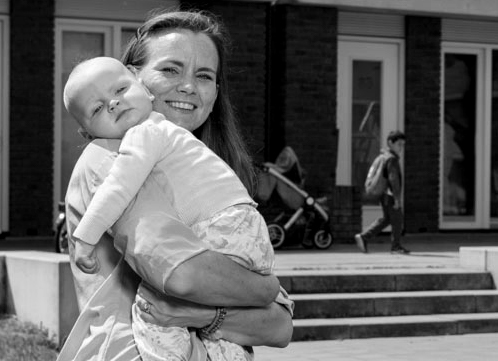 Foto moeder met kind